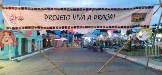 Terceira edição do projeto VIVA A PRAÇA
