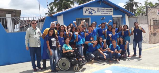 E. M. Jarbas Passarinho realiza visita a Associação de catadores