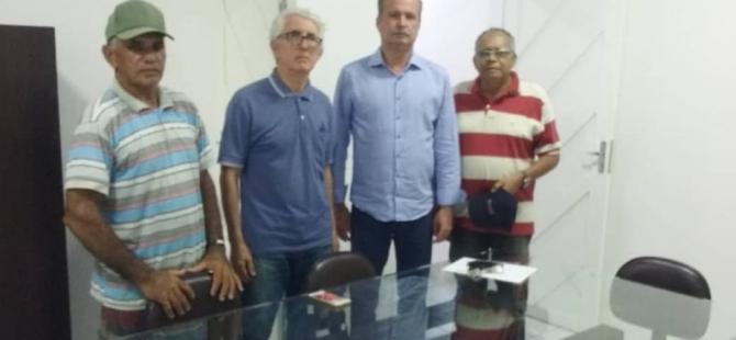 Prefeito Neto Moura traça estratégias para manutenção/recuperação dos acessos Pureza/Ceará-Mirim e Pureza/João Câmara.