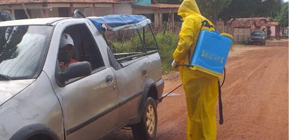 Prefeitura continua com as barreiras sanitárias nas Zonas rurais.