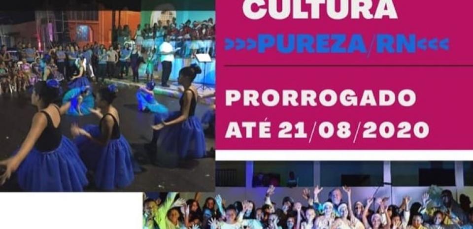 Cadastro Municipal de Cultura foi prorrogado até o dia 21/08/2020