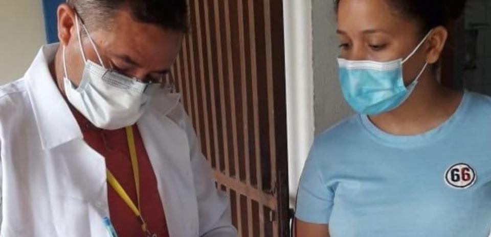 A equipe de Vigilância em Saúde continua com as coletas do Vigiágua em nosso Município.