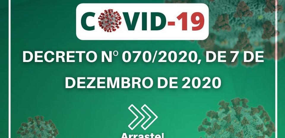 Prefeitura divulga as novas medidas de enfrentamento ao COVID-19.