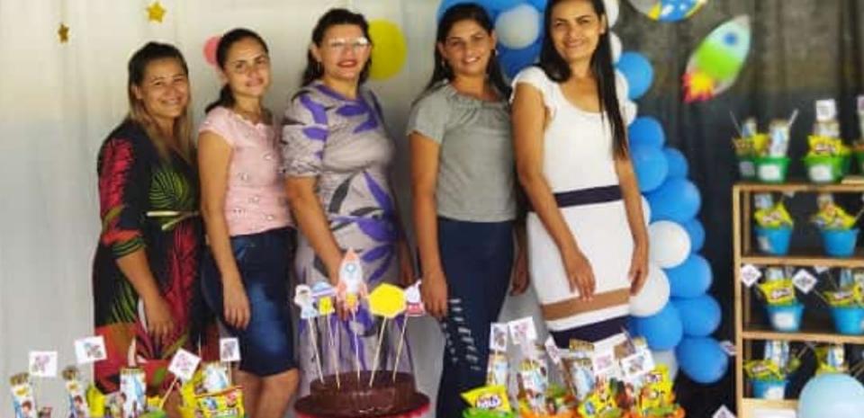Comemoração ao dia crianças do Cmei Manoel F. de Brito