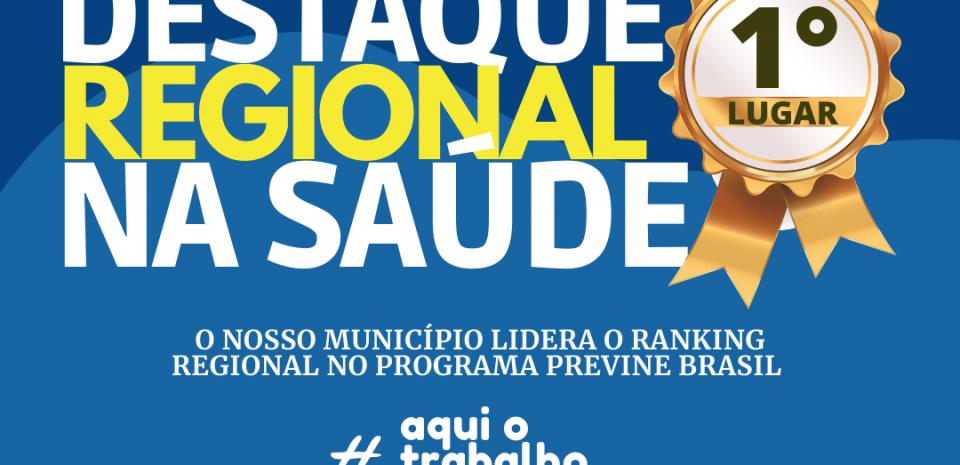 Secretaria Municipal de Saúde de Pureza mais uma vez é destaque na III Região de Saúde